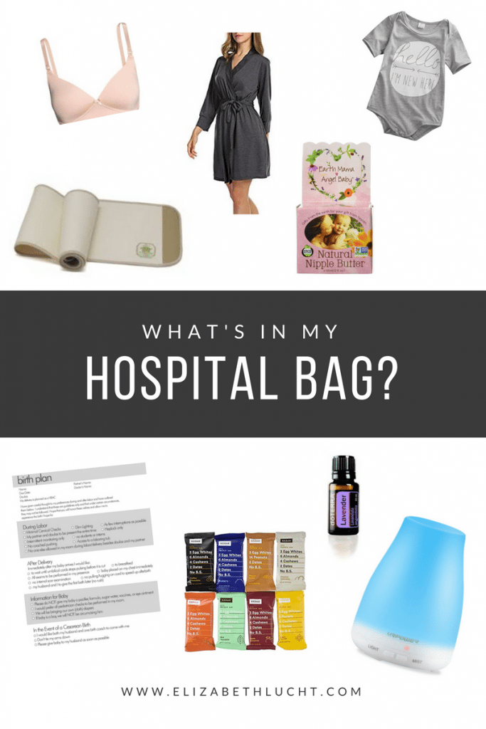 what's in my hospital bag