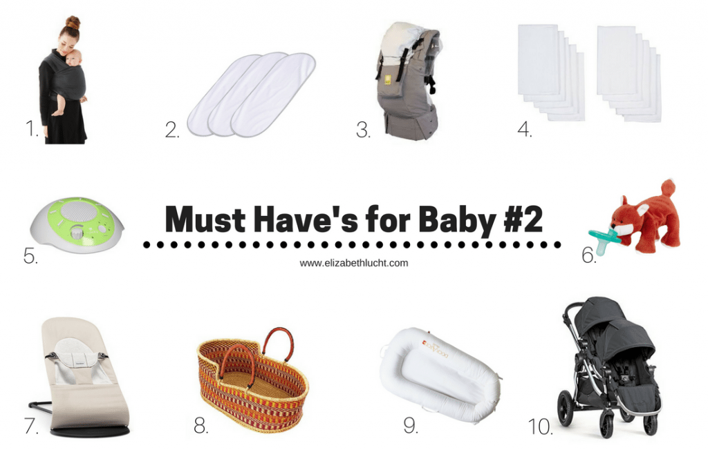 must have items for baby #2
