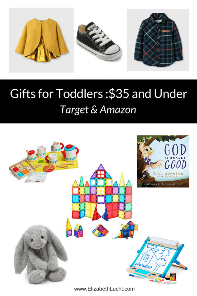 Gifts for Toddlers Under $35 from Amazon and Target