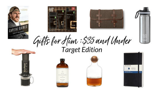 Christmas Gift Ideas for Him Under $35: From Target