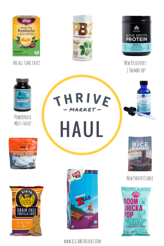 What is Thrive Market & How I Use What I Bought