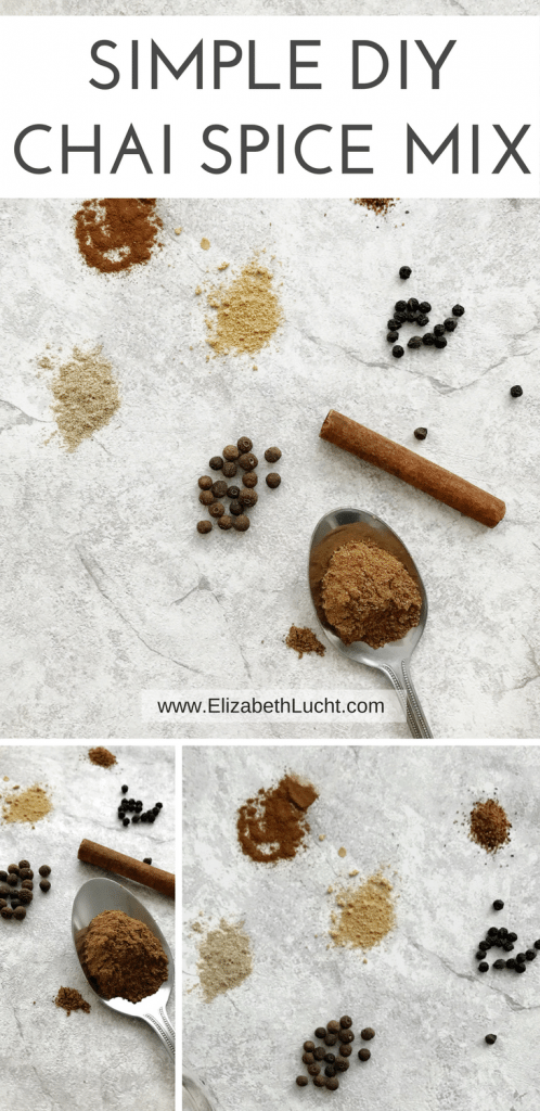 simple diy spice chai mix | elizabeth lucht