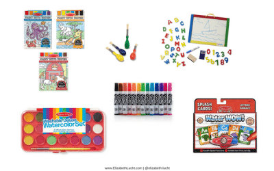 Aria's Current Favorite Drawing & Coloring Activities: Low-Mess Activities Great All-Year-Round