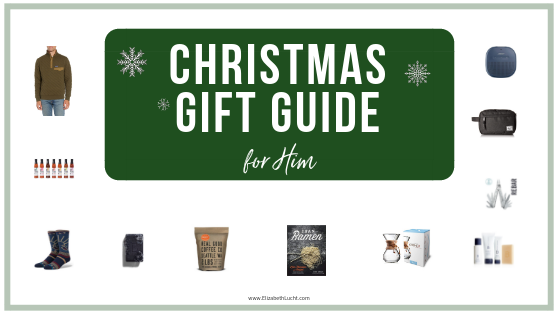 Christmas Gift Guide for Him: Gift ideas for husbands, boyfriends, dads,&  brothers