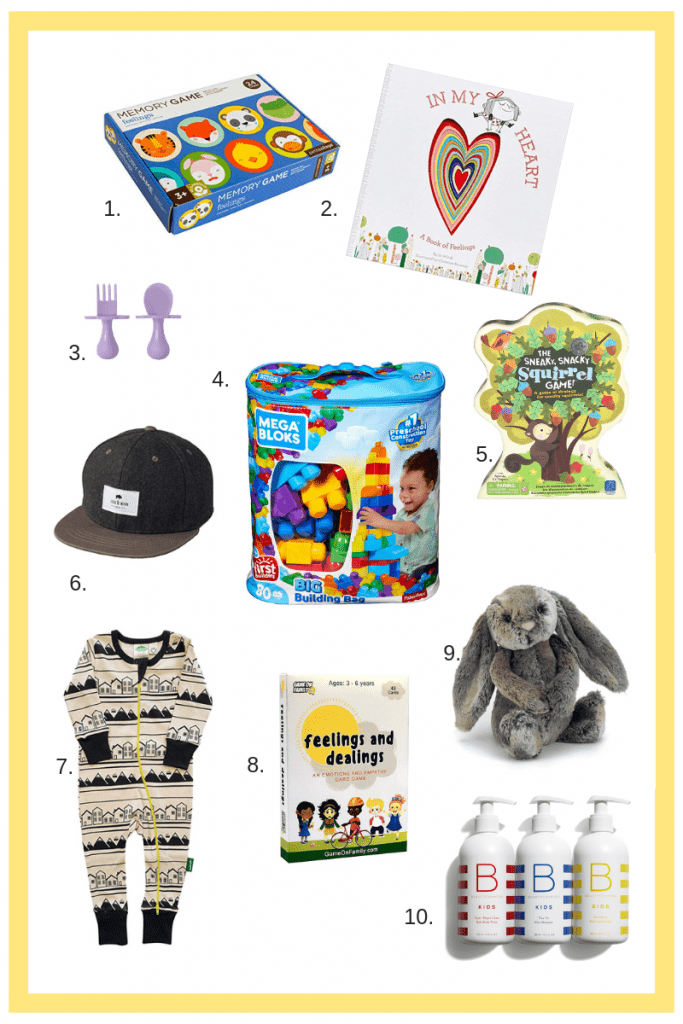Christmas gift guides for babies and toddlers | 10 gifts $45 and under
