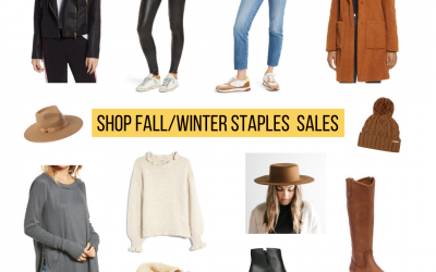 Shop Fall & Winter Staple Pieces: Sale Weekend!