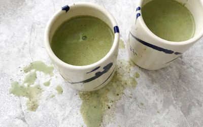 Matcha + Chai Had a Baby, and It's Beyond: Best Matcha Chai Latte Recipe (w/ homemade chai spice mix)