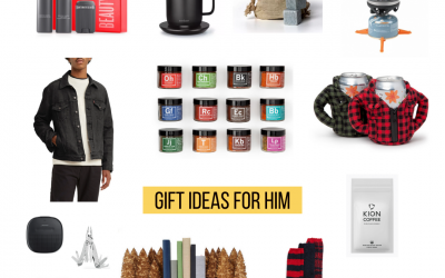 Gift Guide for Him: Great gift ideas for the men in your life!
